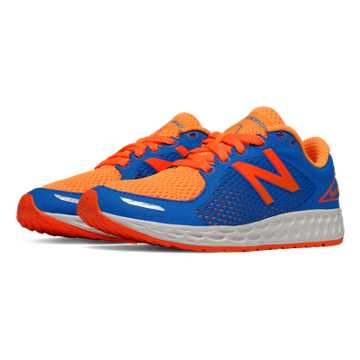New Balance Fresh Foam Zante v2, Orange with Blue & Flame