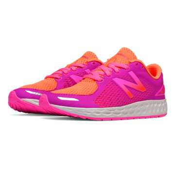 New Balance Fresh Foam Zante v2, Orange with Pink