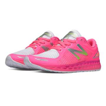 New Balance Fresh Foam Zante v2 Breathe, Pink Glo with White