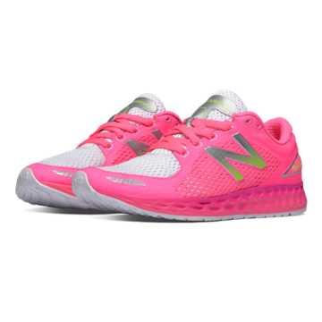 New Balance Fresh Foam Zante v2 Breathe, Pink Glo with White