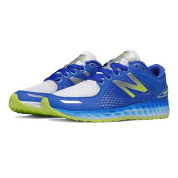 New Balance Fresh Foam Zante v2 Breathe, Blue with White