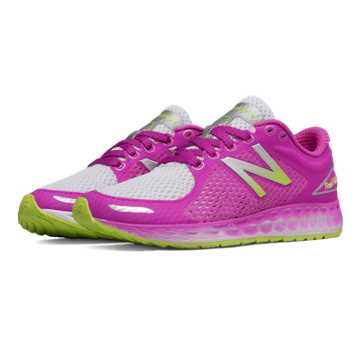 New Balance Fresh Foam Zante v2 Breathe, Purple with White