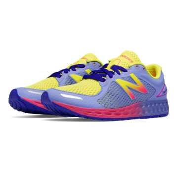 New Balance Fresh Foam Zante v2, Lavender with Yellow