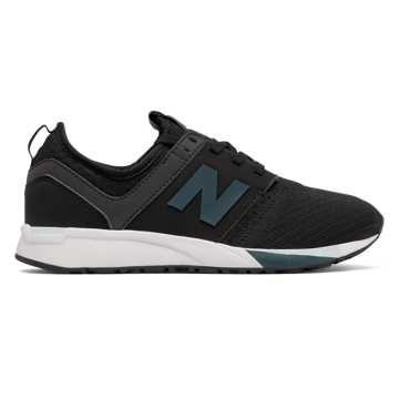 New Balance 247 Sport, Black with Castaway