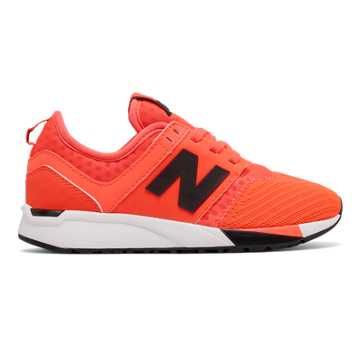 New Balance 247 Sport, Orange with Black