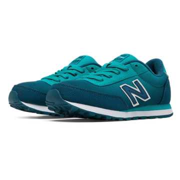 New Balance 501 Gradient, Teal with Wintergreen