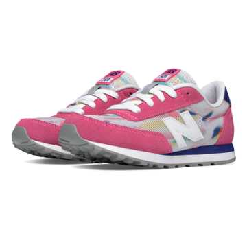 New Balance 501 State Fair, Pink Glo with Blue