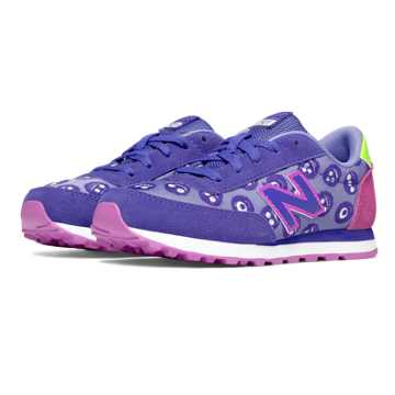 New Balance 501 Friendly Monsters, Flutter with Pink Zing & Light Yellow