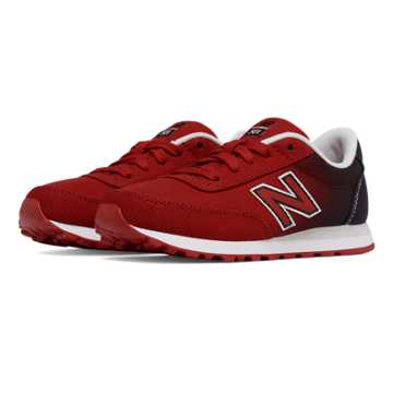 New Balance 501 Gradient, Red with Black