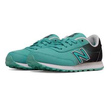 New Balance 501 Gradient, Teal with Black