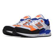 530 New Balance, Blue with White & Orange