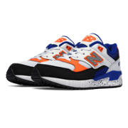 NB 530 New Balance, Blue with White & Orange