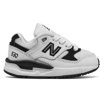 New Balance 530 New Balance, White with Black