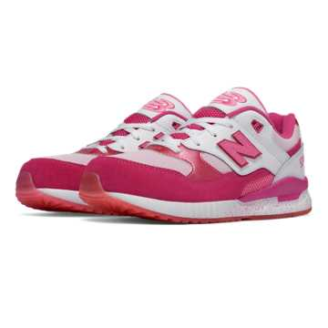 New Balance 530 Foil Eggs, Pink with White