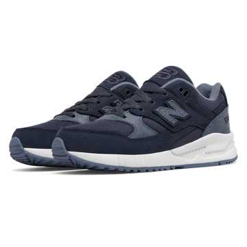 New Balance 530 Canvas Wax, Charcoal Blue