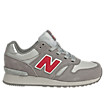 New Balance 565, Grey with Red