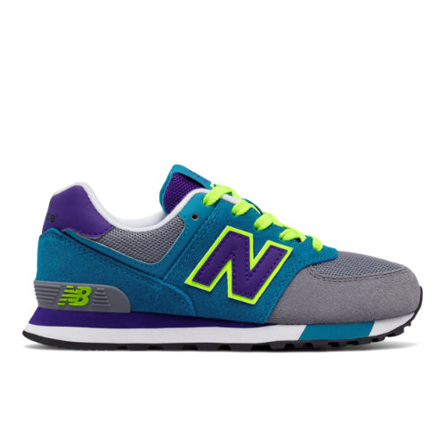 New Balance : 574 Cut and Paste : Unisex Girls' Outlet : KL574AIP