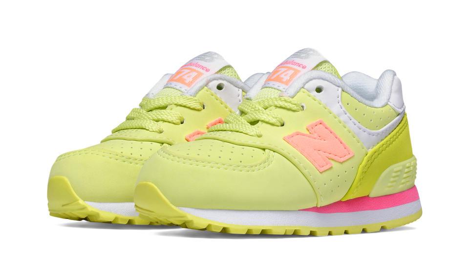 Pink New Balance Toddler Shoes