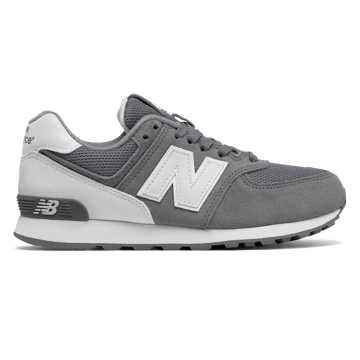 New Balance 574 High Visibility, Grey with White
