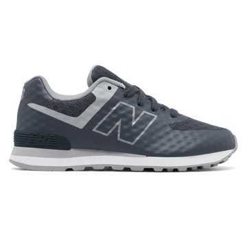 New Balance 574 Breathe, Grey with Light Grey