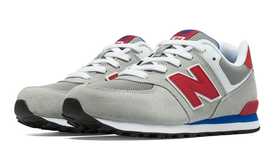 new balance 574 gray blue