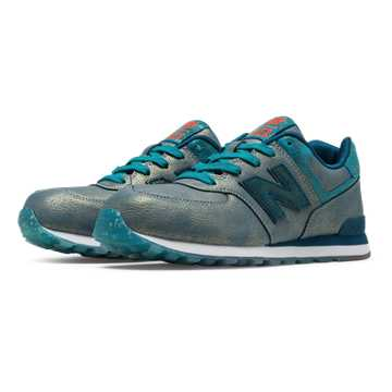 New Balance 574 Mineral Glow, Teal