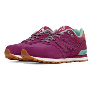 New Balance 574 New England, Purple with Blue Atoll
