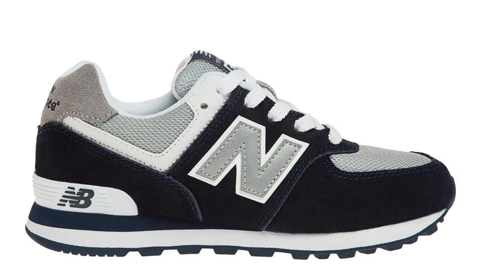 new balance 574 navy white
