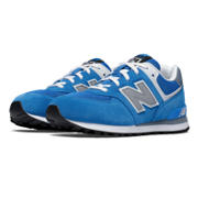 574 New Balance, Blue with Grey