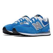 574 New Balance, Blue with Grey