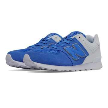 New Balance 574 Breathe, Blue with White