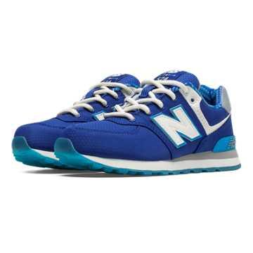 New Balance 574 Street Beat, Blue with White & Light Grey