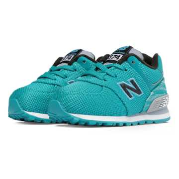 New Balance 574 Summer Waves, Teal