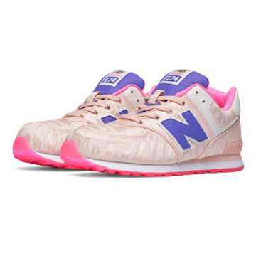 New Balance 574 Summer Waves, Shell Pink with Pink Glo