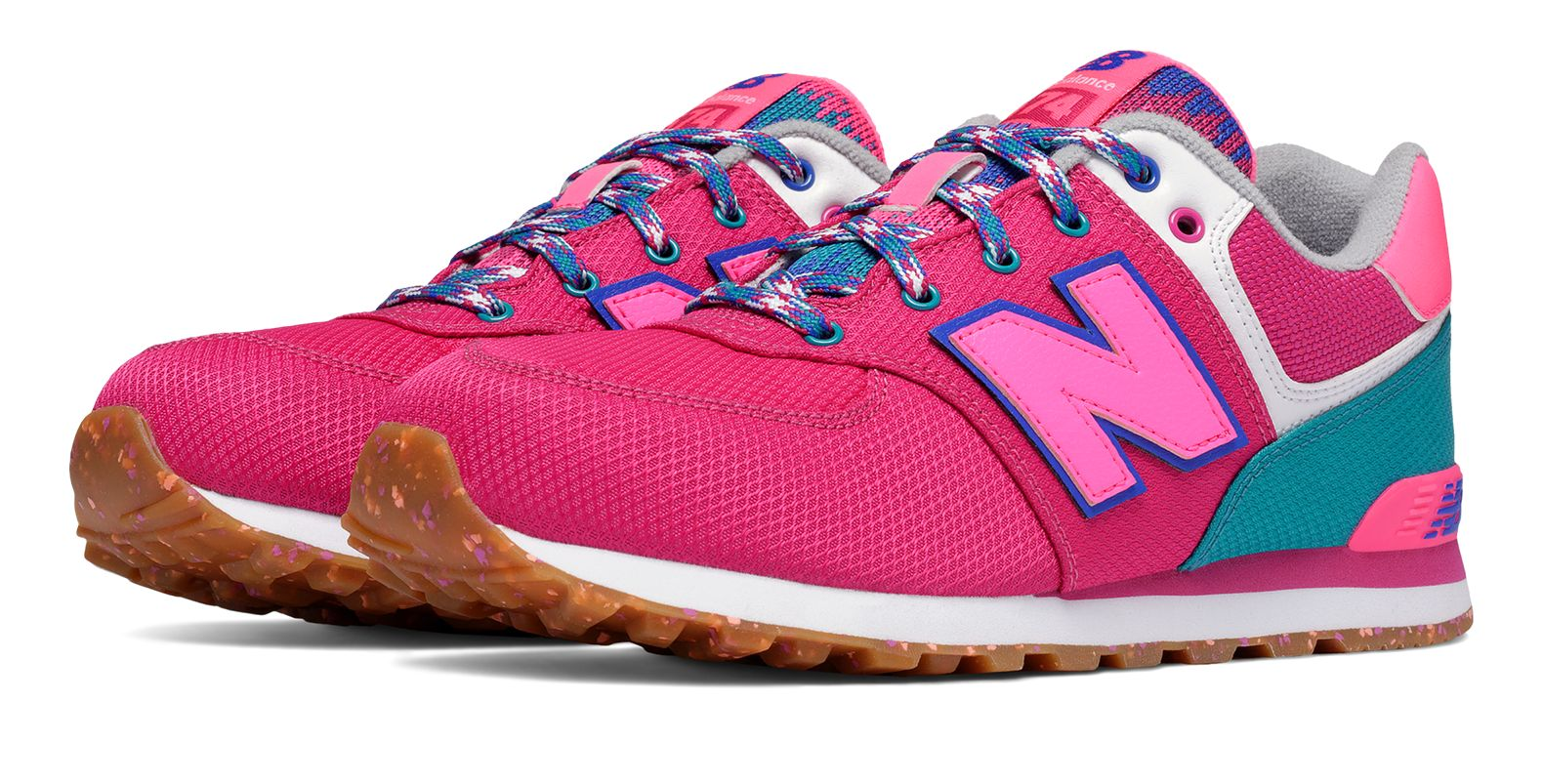 New Balance : 574 Weekend Expedition : Unisex Girls' Outlet : KL574T4G