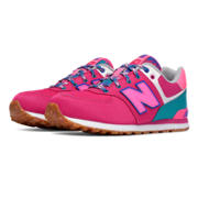 NB 574 Weekend Expedition, Pink with Blue