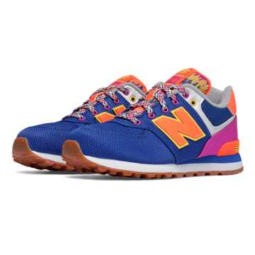 New Balance 574 Weekend Expedition, Purple with Pink