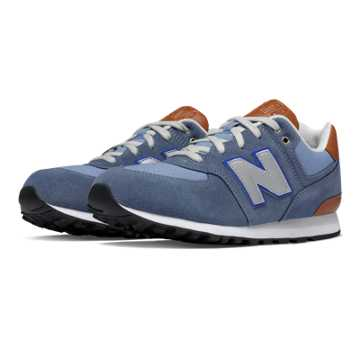 New Balance 574 Cruisin, Blue Bell with Blue Fin