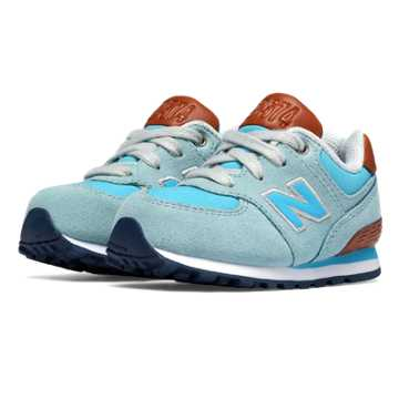 New Balance 574 Cruisin, Admiral Blue with Blue Light