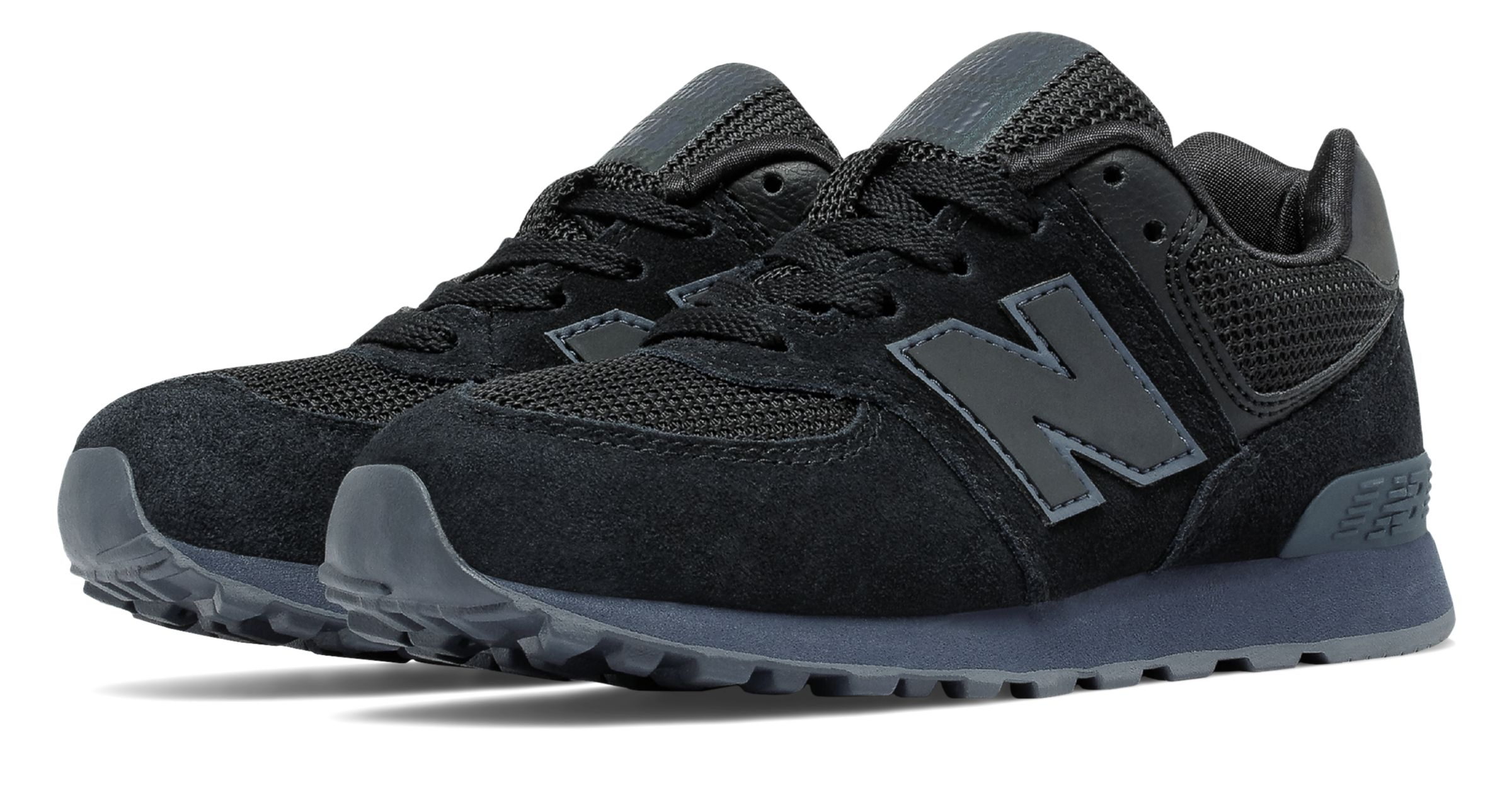 New Balance 574 Urban Twilight Pre - school Boys Shoes Black
