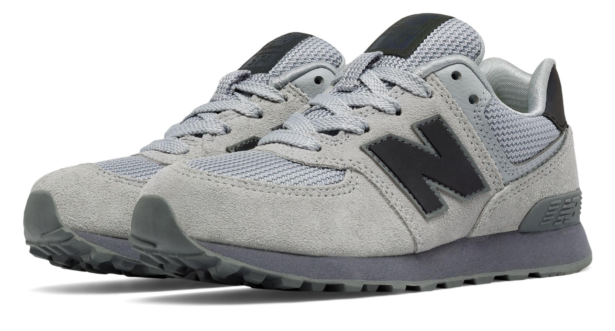 New Balance 574 Urban Twilight Pre - school Boys Shoes Grey