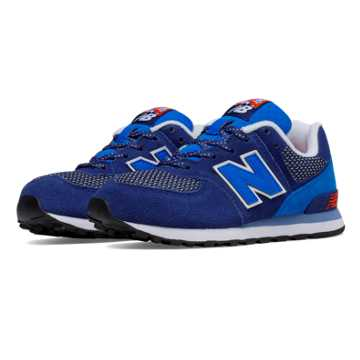 New Balance 574 Day Hiker, Navy with Blue