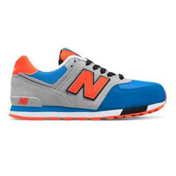 New Balance 574 Cut and Paste, Grey with Baltic
