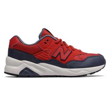 New Balance 580 New Balance, Red with Navy