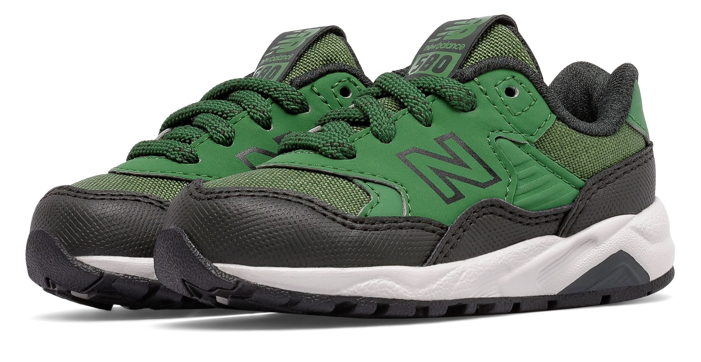 New Balance 580 Infant Boys Shoes Green