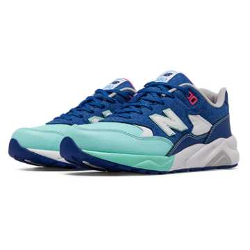 New Balance 580 Deep Freeze, Blue with White & Artic Blue
