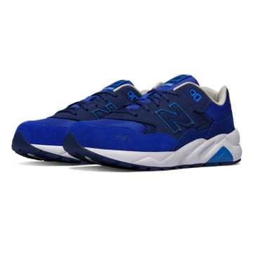 New Balance 580 Paper Lights, Blue with White