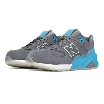 New Balance 580 Solarized, Light Blue with Grey