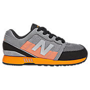 New Balance 751, Grey with Orange & Black