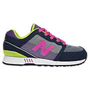 New Balance 751, Navy with Purple & Fluorescent Lime